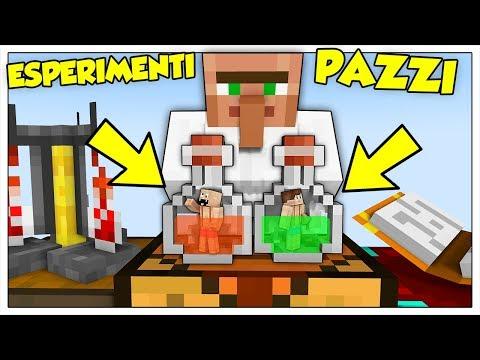 SOPRAVVIVIAMO AGLI ESPERIMENTI DELLO SCIENZIATO PAZZO! - Minecraft ITA