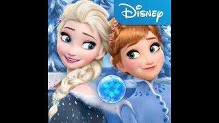 Elsa ve olaf karlar ülkesi forezen free fall eğlenceli çocuk oyunları
