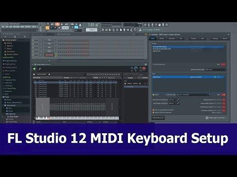 FL Studio 12 MIDI Keyboard Setup