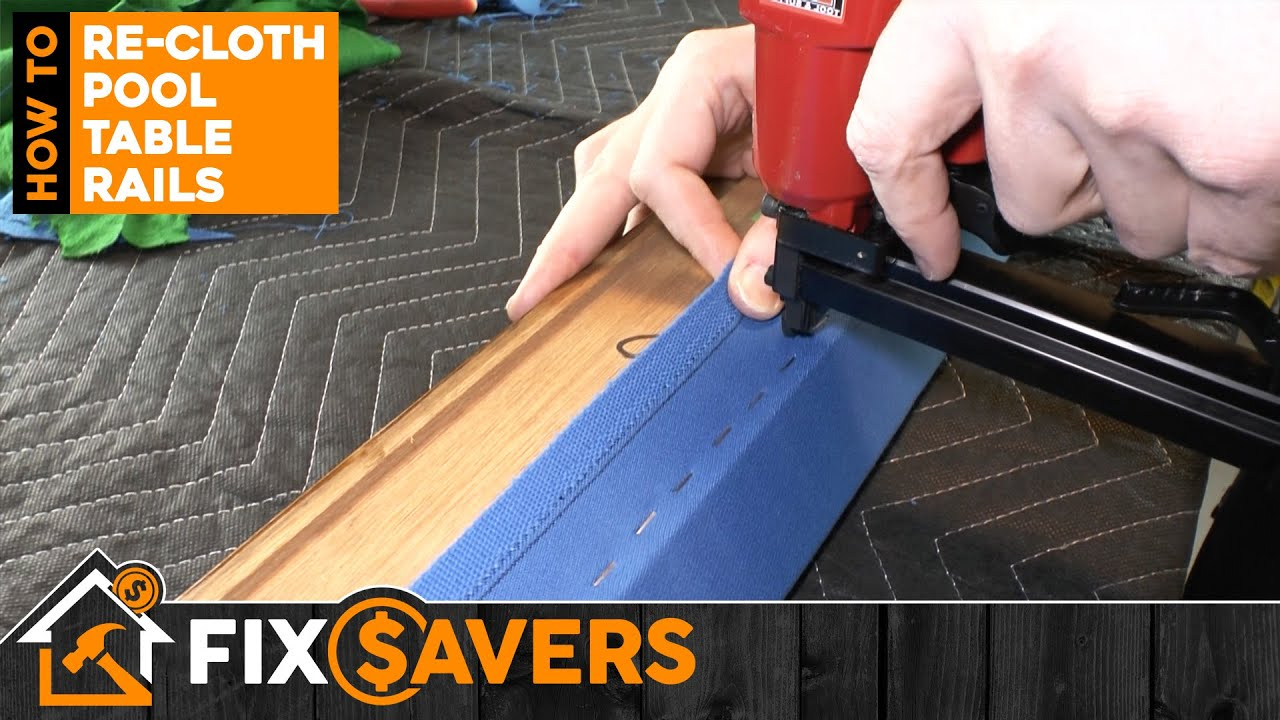 How to Re-Cloth Your Pool Table Rails – FULL DIY GUIDE, BEST ON YOUTUBE!!!
