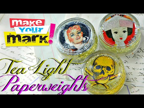 How To Glass Paperweights DIY