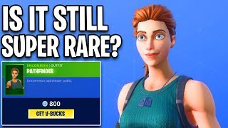 FINALLY a RARE SKIN is back.. Fortnite ITEM SHOP (December 2) RARE PATHFINDER SKIN in item shop!!