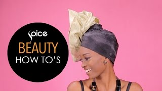 How To Tie The Auto Gele  SPICE Beauty How To39s