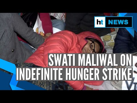 Watch: DWC's Swati Maliwal on indefinite hunger strike against rape incidents