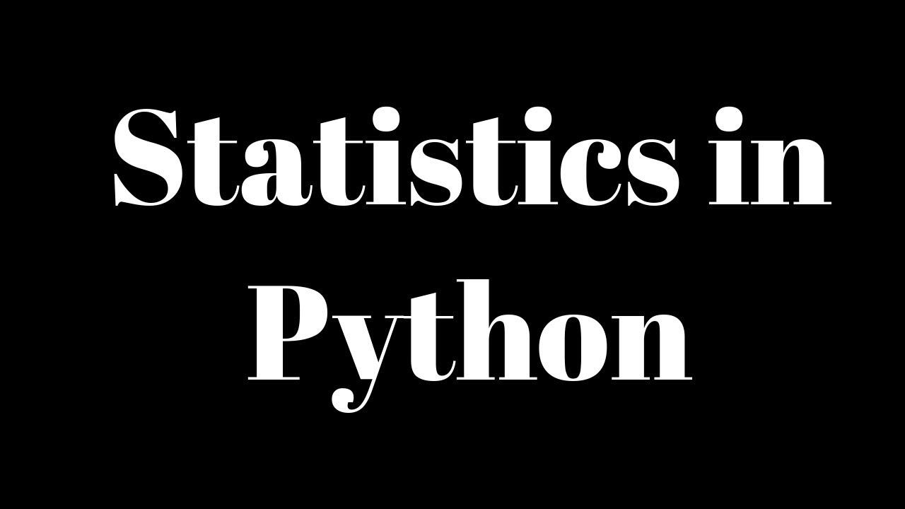 Statistics usig Python || Summary Stats || Hypothesis Testing || Regression