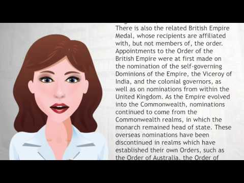 Order of the British Empire - Wiki Videos