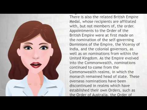 Order of the British Empire - Wiki Videos
