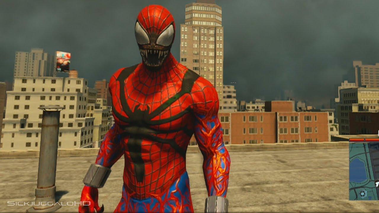 THE AMAZING SPIDER-MAN 2 VIDEOGAME - SPIDER CARNAGE ...
