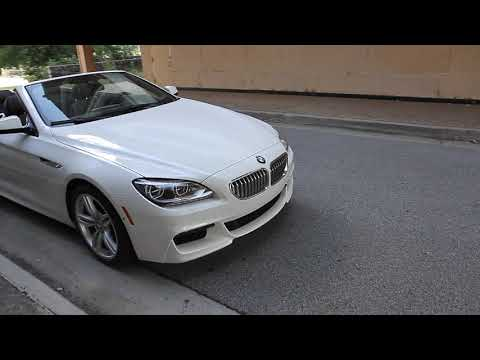2015 BMW 650i XDrive Convertible For Sale