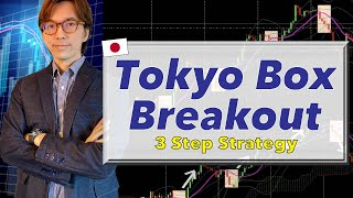 📚Tokyo Box Breakout Strategy: 3 simple steps and make forex trading profit