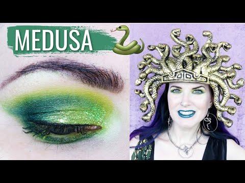 Serpentine Dreams: Medusa Costume Makeup Tutorial for Halloween thumbnail