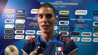 04-10-2014: Intervista a Francesca Piccinini nel post Ita-Jpn