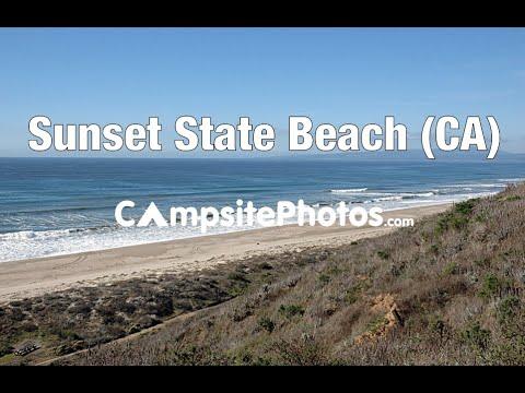 Sunset State Beach, California Campsite Photos