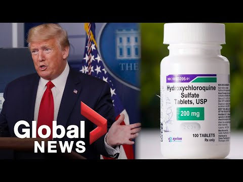 Coronavirus outbreak: Trump says feds to distribute 'large amounts' of hydroxychloroquine   FULL