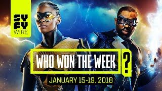 Black Lightning Rules The World: Who Won The Week For Jan 15-19, 2018 | SYFY WIRE