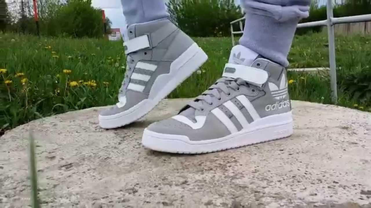 new arrival 4e797 7e4de Adidas Forum Mid - Nahodsa.sk - YouTube