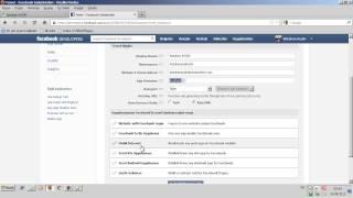 Facebook'ta Uygulama Oluşturma