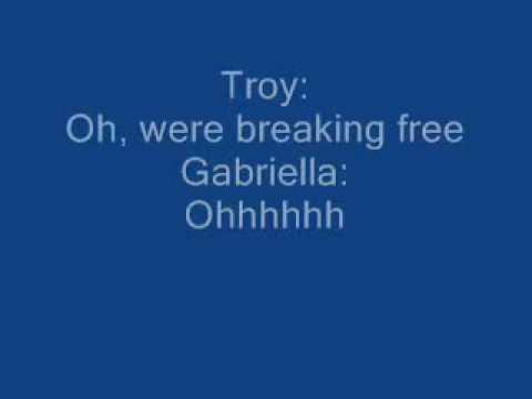 breaking free fore karaoke