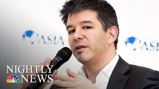 Uber's CEO Travis Kalanick Steps Down Amid Shareholder Pressure After Scandals | NBC Nightly News