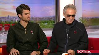 Andrea Bocelli and s๐n Matteo team up in