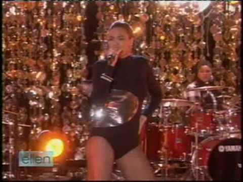 Beyonce - Single Ladies On Ellen (Part 1)