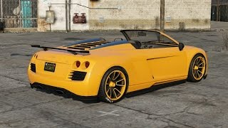 Gta 5 ( fully customized the obey 9f cabrio!!!) part 5