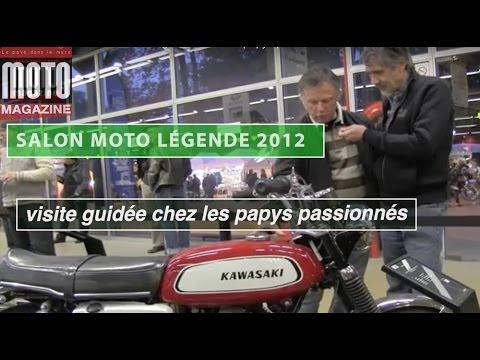 Salon Moto Légendes 2012 : visite guidée chez les papys passionnés !