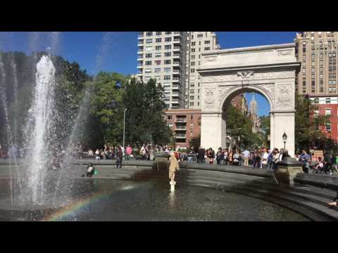 Washington Square Park 4K UltraHD