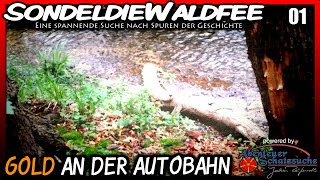 Repeat youtube video (01) Sondeln / Metal Detecting - An der Autobahn: Gold!!!