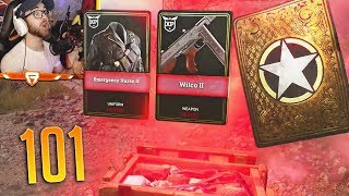 Opening 100+ SUPPLY DROPS in COD WW2!! (Best HEROIC Supply Drop Opening)