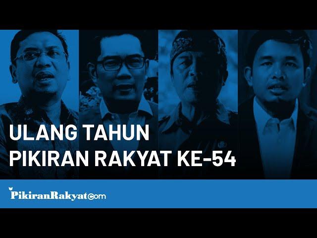 Ulang Tahun Pikiran Rakyat ke-54, Terus Berkarya Dan Berinovasi