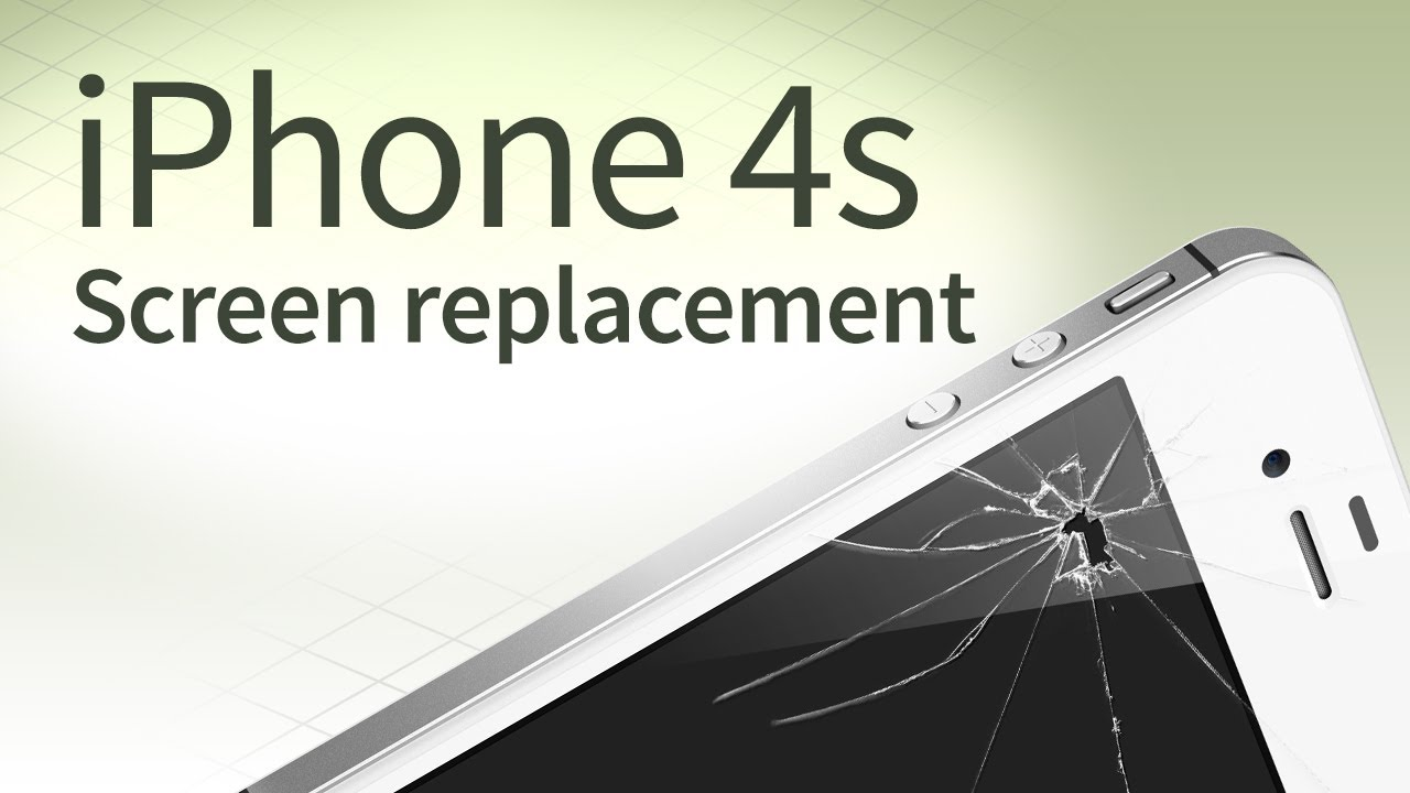 iphone 4s screen replacement iphone 4s screen replacement disassembly and reassembly 14451