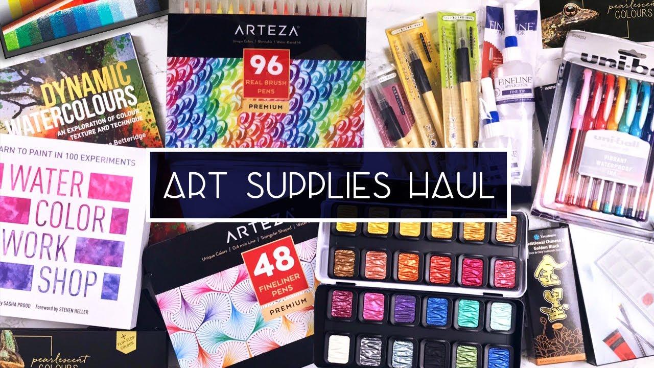 HUGE Chicago Art Supplies Haul (Blick, Hobby Lobby & More)