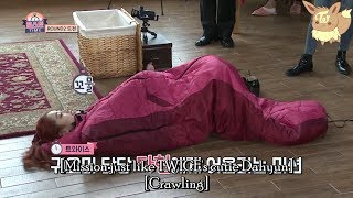 Video TWICE (트와이스) - Dahyun the Sleeping Bag Worm (ENG SUB) download MP3, 3GP, MP4, WEBM, AVI, FLV Januari 2018