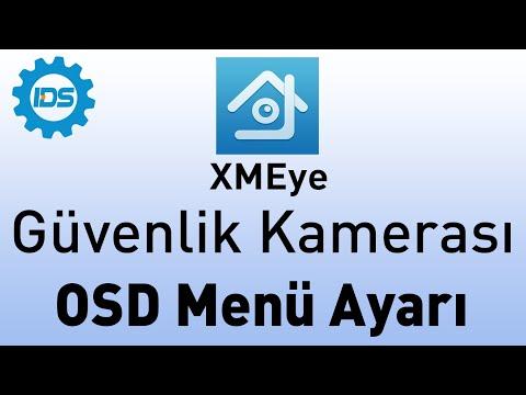 Güvenlik Kamerası OSD Menüye Nasıl Girilir?