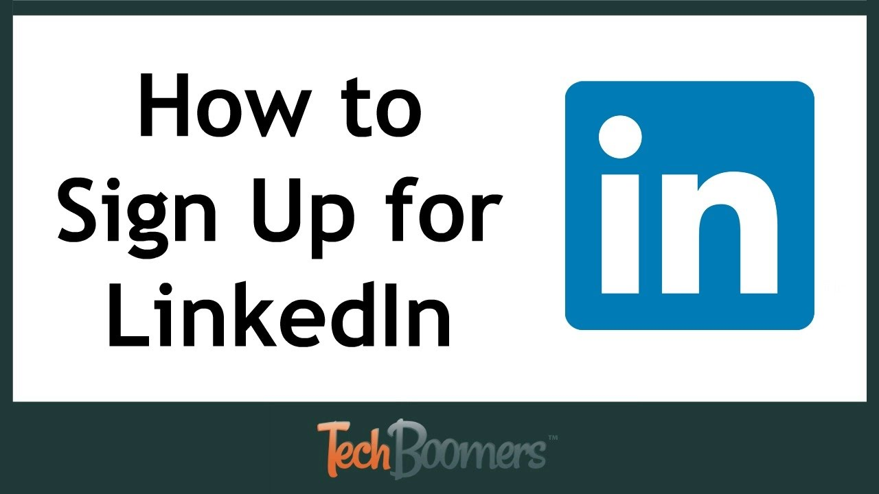 how to sign up for linkedin fill in your profile youtube
