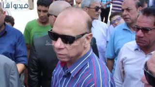 بالفيديو: جولة تفقدية لمحافظ القاهرة في الحديقة الدولية بمدينة نصر