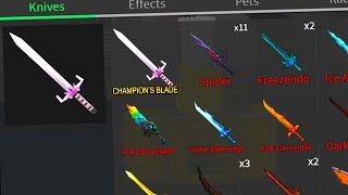 BUYING THE CHAMPION'S BLADE (Roblox Assassin)
