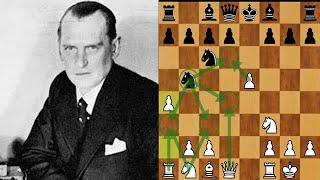 【名局解説】チェスの天才!アレヒンの対局を解説します!(Alekhine vs Poindle ; Ruy Lopez)
