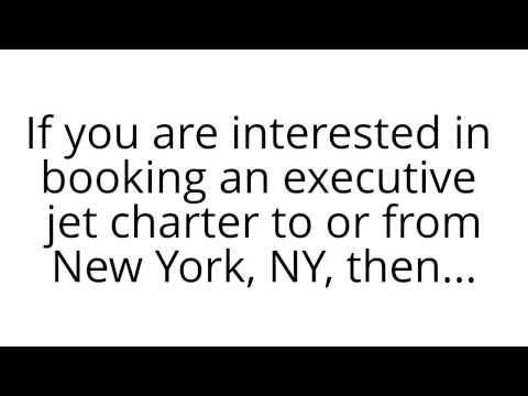 Executive Jet Charter New York, NY