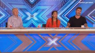 Garry Greig looks for his window of opportunity The X Factor UK 2016
