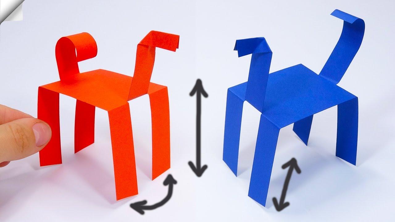 Amazing paper toys   Moving paper toys   Paper toys antistress