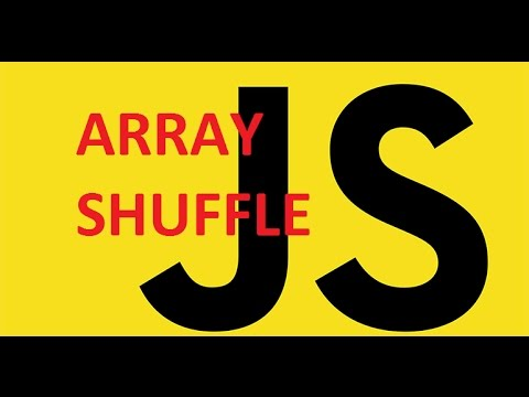 Javascript Array Shuffle By Manipulating The Sort()  Method