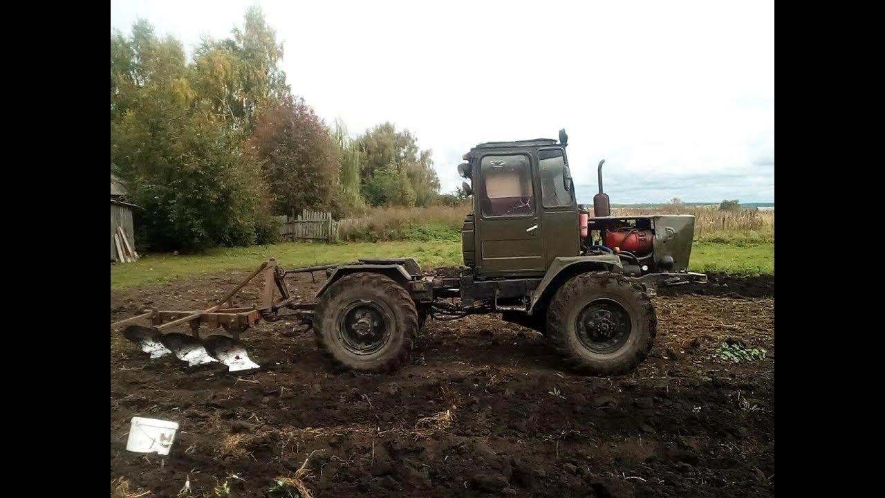 Самодельный трактор мини Т-150 Никиты Самошкина