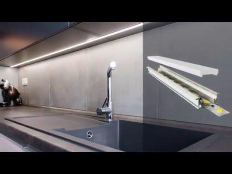 Линейные LED светильники в интерьере