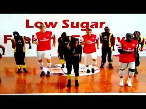 Trio Arsenal Ngedance