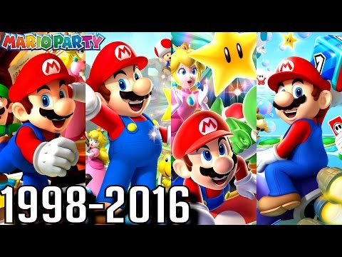 Mario Party - ALL INTROS 1998-2016 (Wii U, 3DS, N64, GC, DS)
