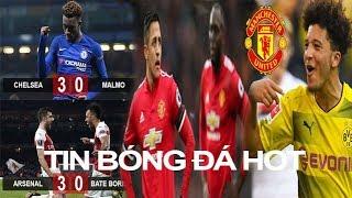 Tin bóng đá 22/02  Arsenal & Chelseas thắng đậm, MU bán đứt Sanchez & Lukaku nổ bom tấn