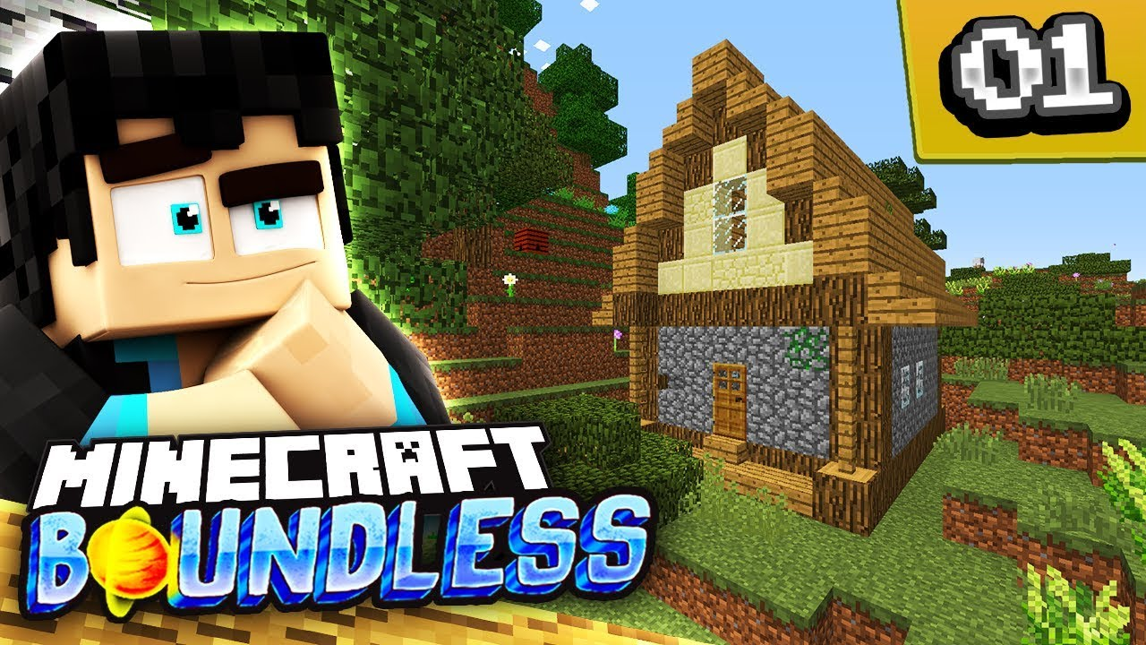 PORTAL TO A NEW BEGINNING! - EP 1 - (Boundless Modded Minecraft Server)