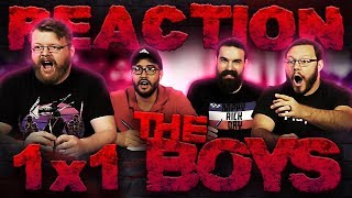 "The Boys 1x1 REACTION!! ""The Name of the Game"""